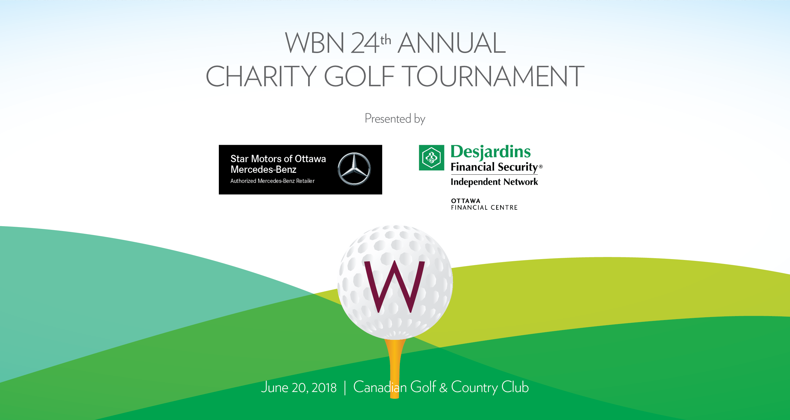Women 39 s business network wbn 24th annual charity golf for Chair network golf